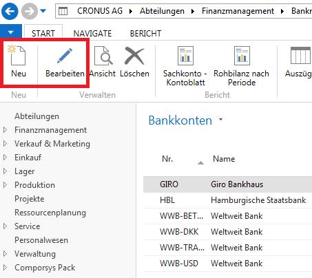 NAV 2016 – Kontoauszüge im CAMT-Format importieren - Microsoft ...