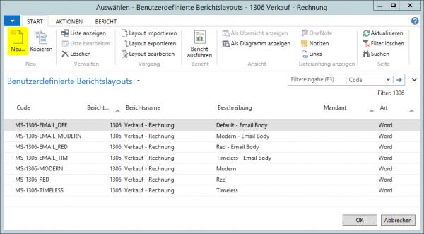 Dynamics Nav 2017 Beleg Als Pdf Senden Und E Mail Text Automatisch