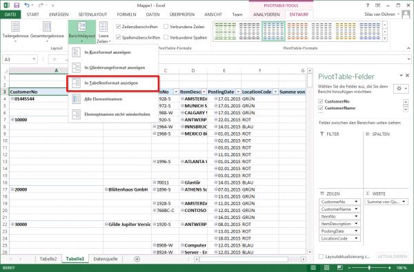 Excel Auswertungen 252 Ber Dynamics Nav Odata Webservices